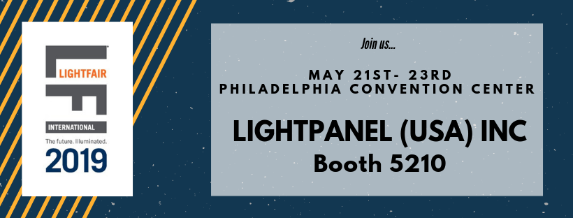 Lightpanel (USA) Inc Exhibiting at Lightfair 2019