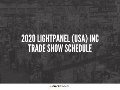 2020 LIGHTPANEL (USA) INC trade show schedule