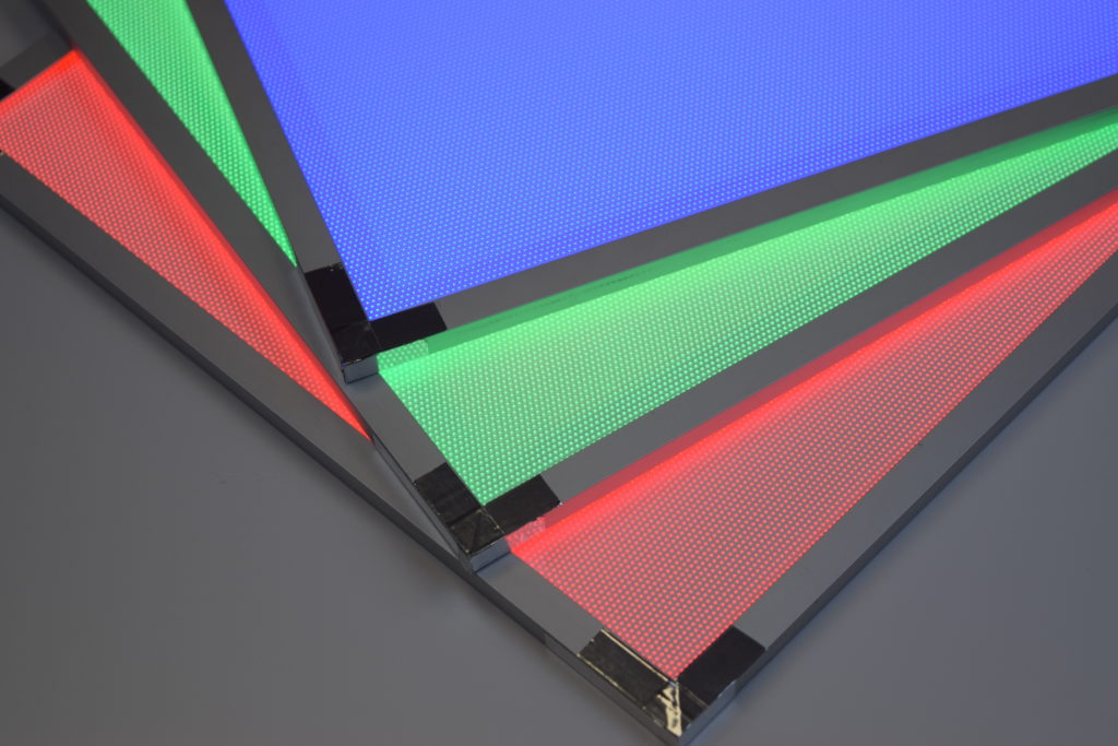 RGB LED Light Guide Panel